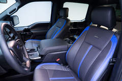 '15 Ford F-150 CrewCab by Leer - Interior Shot