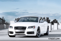 2008 Audi S5 on Concept One CS-55's