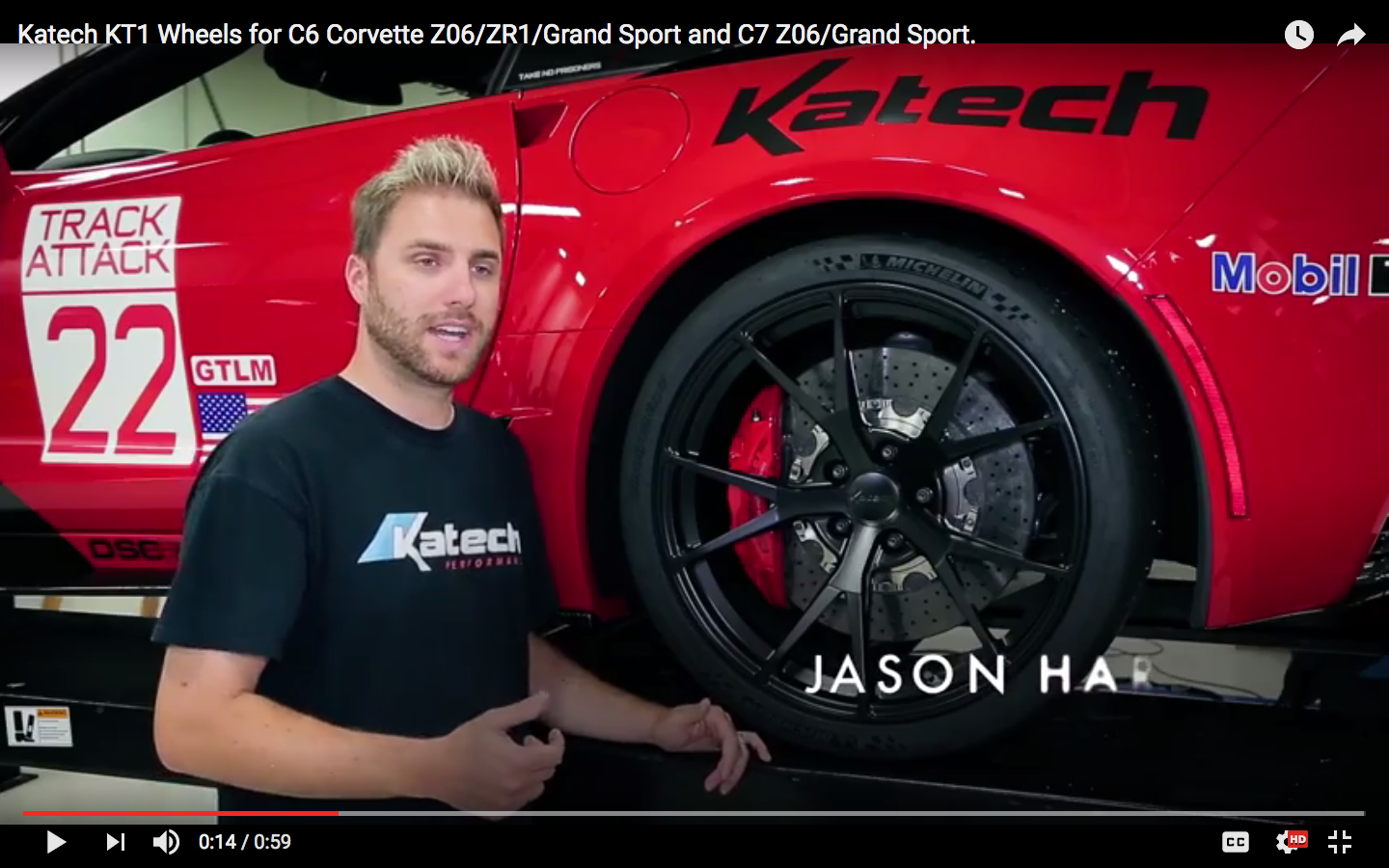 2017 Chevrolet Corvette Z06 | Video: Katech's One Piece Forged Monoblock KT1 Wheel by Forgeline