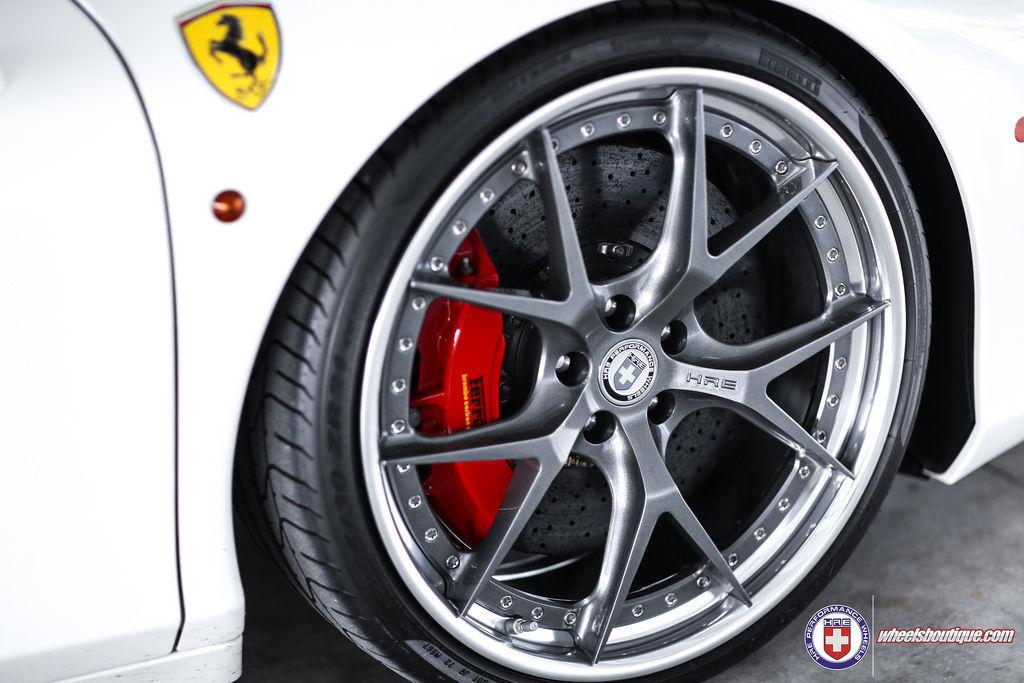 Ferrari 458 Italia | Ferrari 458 on HRE S101 at the Track