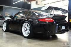 BBi Autosport's Porsche 997.2 GT3 Street Cup on Forgeline One Piece Forged Monoblock GA1R Wheels
