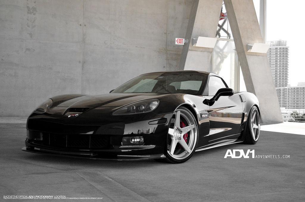 Chevrolet Corvette | Corvette C6 Z06 on ADV5 Deep Concave