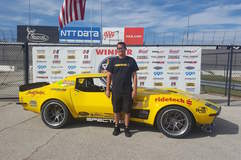 Chris Smith Wins Goodguys Lone Star Nationals Pro Class in the RideTech 48 Hour Corvette on Forgeline GA3C Wheels