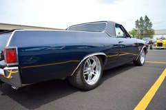 Jim O'Neal's Big Block 1970 Chevy El Camino on Forgeline DS3 Wheels