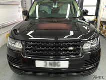 Land Rover protected with XPEL ULTIMATE