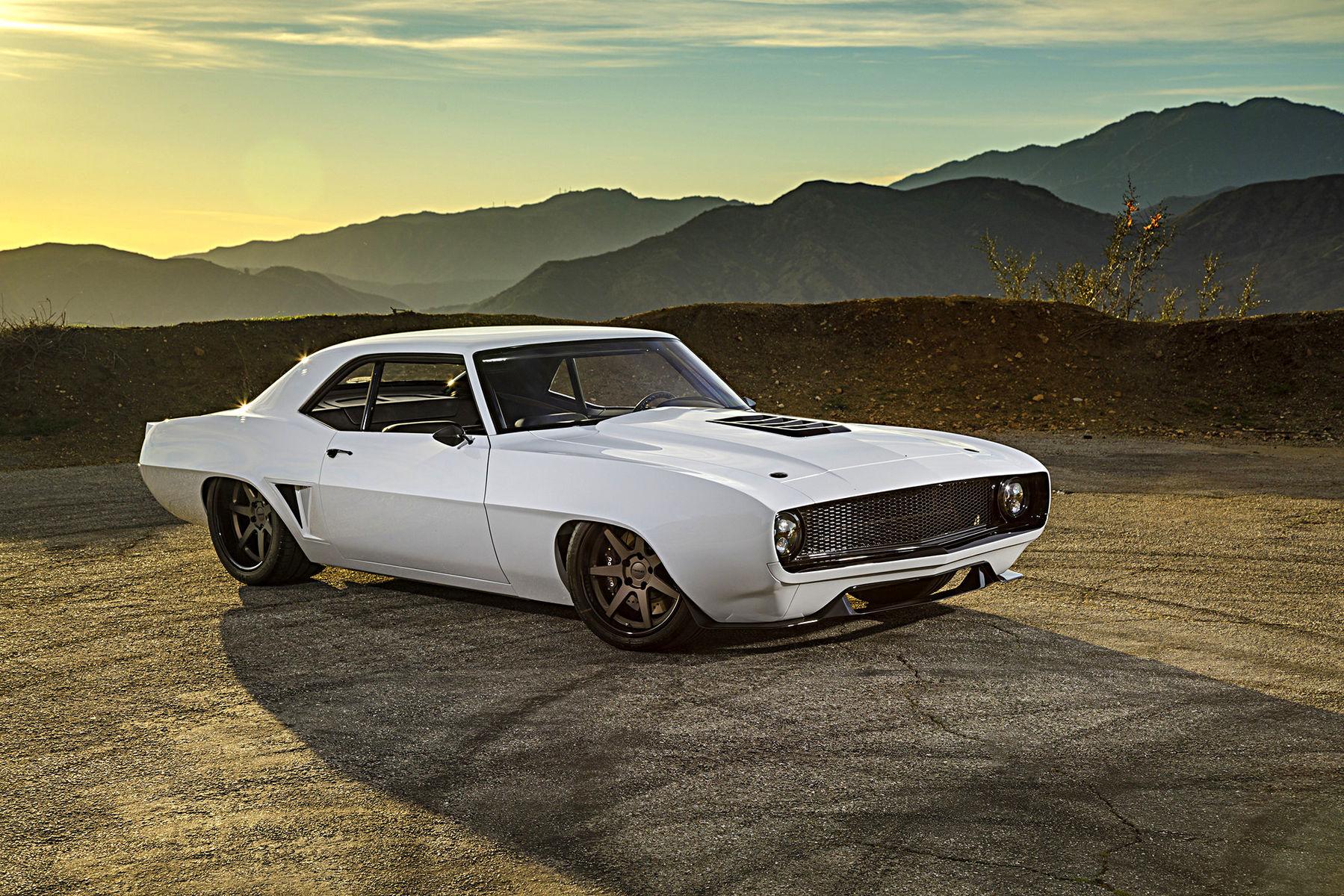 1969 Chevrolet Camaro | Josh Hodges' Born Vintage-Built Widebody '69 Camaro on Forgeline CV3C Wheels
