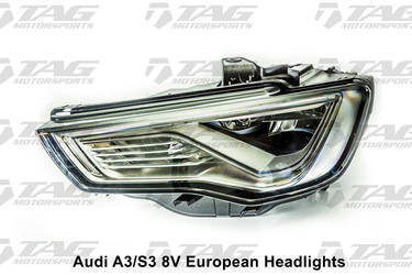 S3 European Headlights