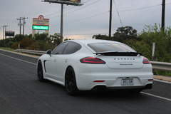 Porsche Panamera Turbo with XPEL STEALTH covering the entire car