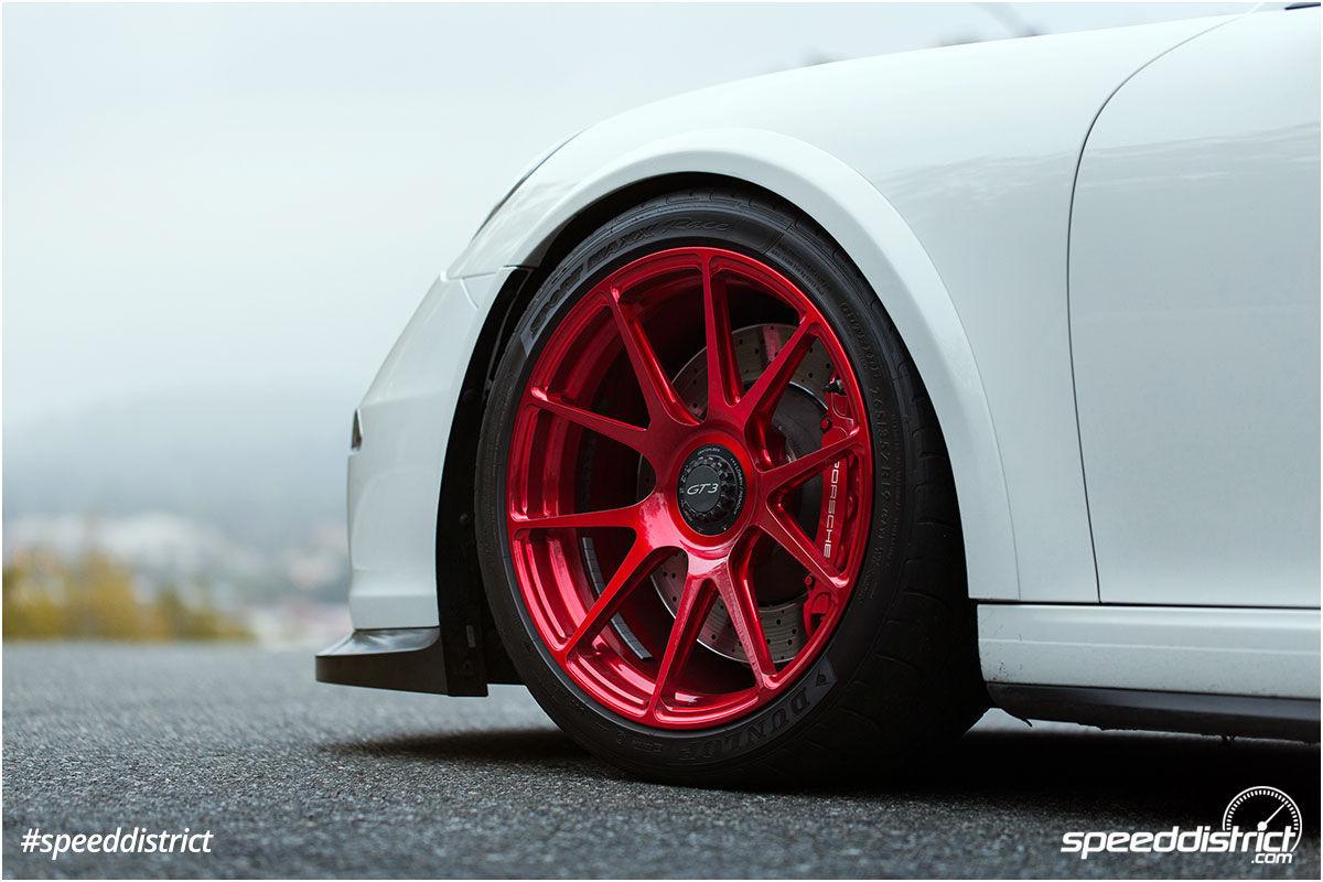 2015 Porsche 911   Josh Shokri's Speed District Porsche 991 GT3 on Center Locking Forgeline One Piece Forged Monoblock GA1R Wheels