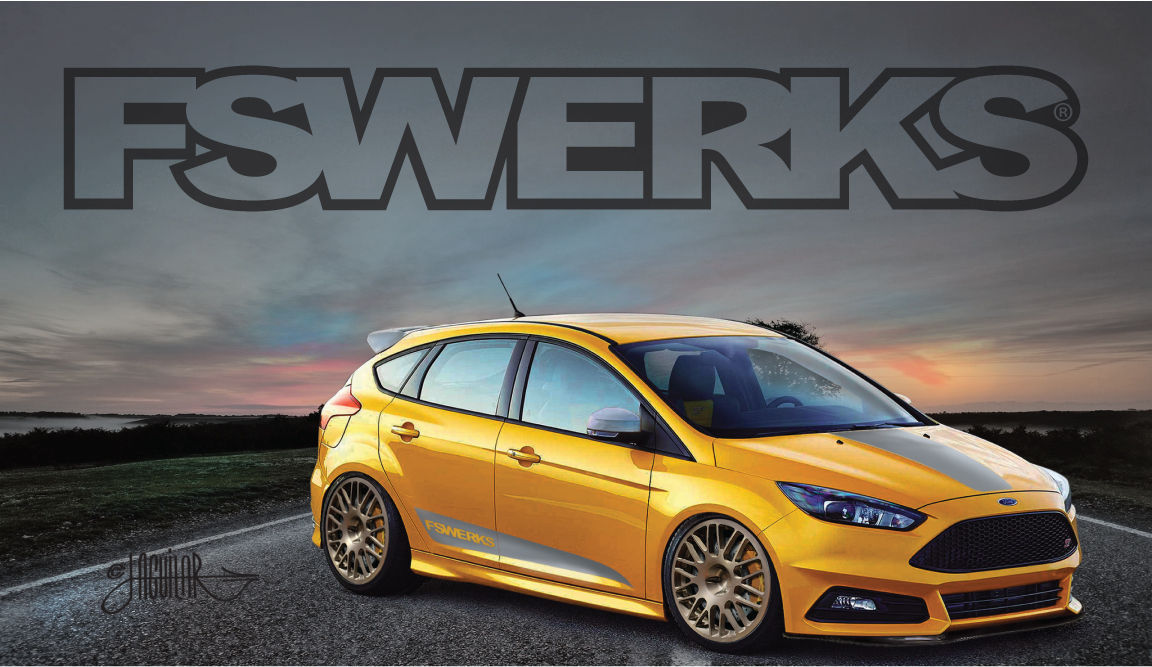 2015 Ford Focus ST | 2015 Ford Focus ST by FSWerks