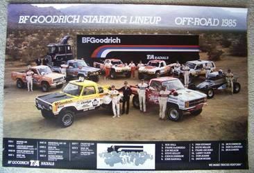 1985 Chevrolet Blazer | BFG Poster