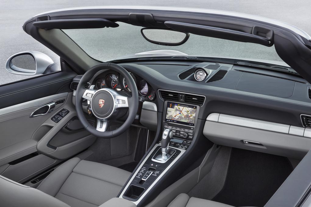 2014 Porsche 911   '14 Porsche 911 Turbo Cabriolet