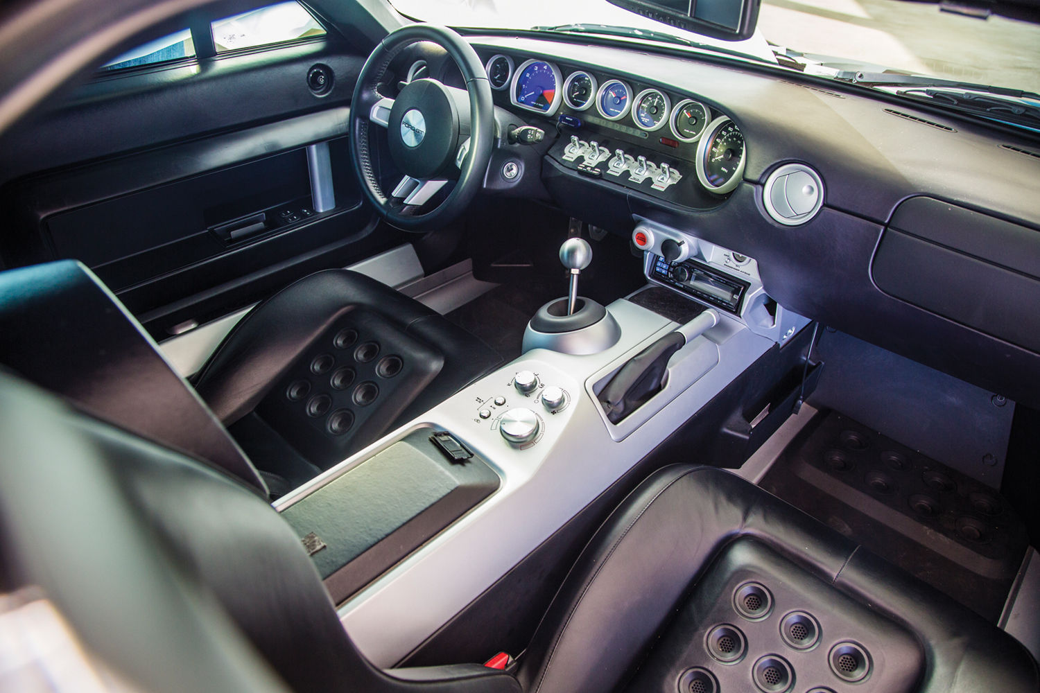 Ford Gt Le Mans Ford Gt Interior