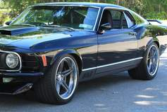 Forgeline SC3C Concave on the ACS Garage 1970 Mach 1 Mustang