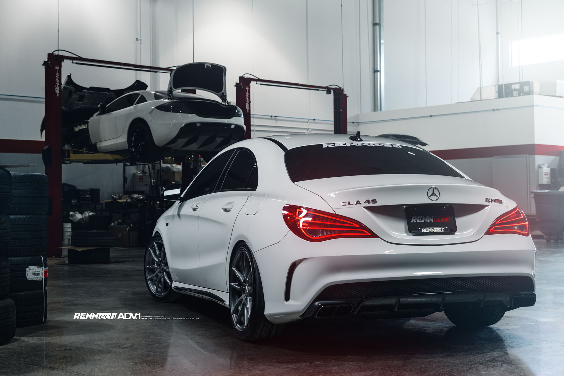 2015 Mercedes-Benz CLA-Class | Renntech Mercedes CLA45
