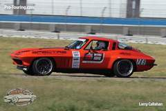 "Greg Thurmond Earns 2016 OUSCI Invite in the 1965 ""SCAR"" Corvette on Forgeline DE3C Concave Wheels"