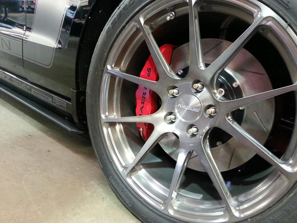 2014 Ford Mustang   Kenny Brown Boss X Mustang on Forgeline One Piece Forged Monoblock GA1R Wheels
