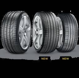 Pirelli P-Zero (335/25ZR22 rear) tires