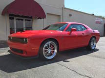 Challenger Hellcat on Forgeline ZX3S Wheels