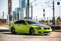 Green BMW 6 Series - Side