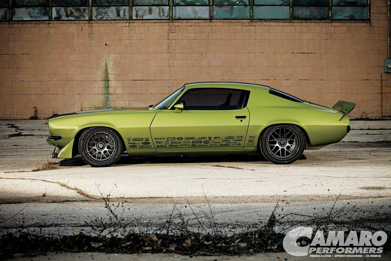 1973 Chevrolet Camaro | D&Z Customs Envious Camaro on DE3C Centerlock
