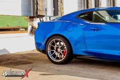 Mike Martin's Chevrolet Camaro ZL1 on Forgeline One Piece Forged Monoblock GS1R Wheels