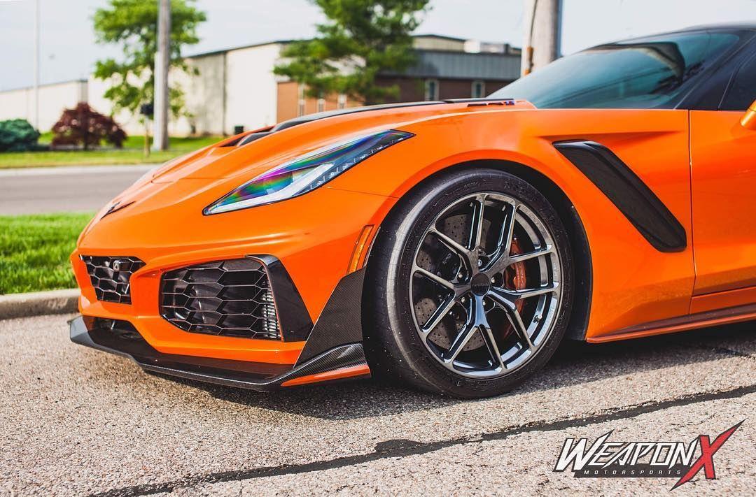 2019 Chevrolet Corvette ZR1 | Weapon X Motorsport's 800HP C7 Corvette ZR1 on Forgeline One Piece Forged Monoblock VX1R Wheels