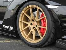 Doug Washburn's GT-R on GA1R Deep Cap Wheels in Matte Gold