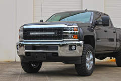 Chevy Silverado 3500 LED Grilles