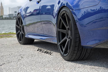 2016 Lexus GS 350 | 2016 Lexus GS350 FSport on Velgen Wheels VMB8 - Fitment Shot