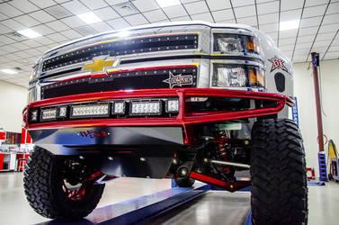 2014 Chevrolet C/K 1500 Series | N-FAB 2014 Chevy Silverado 1500