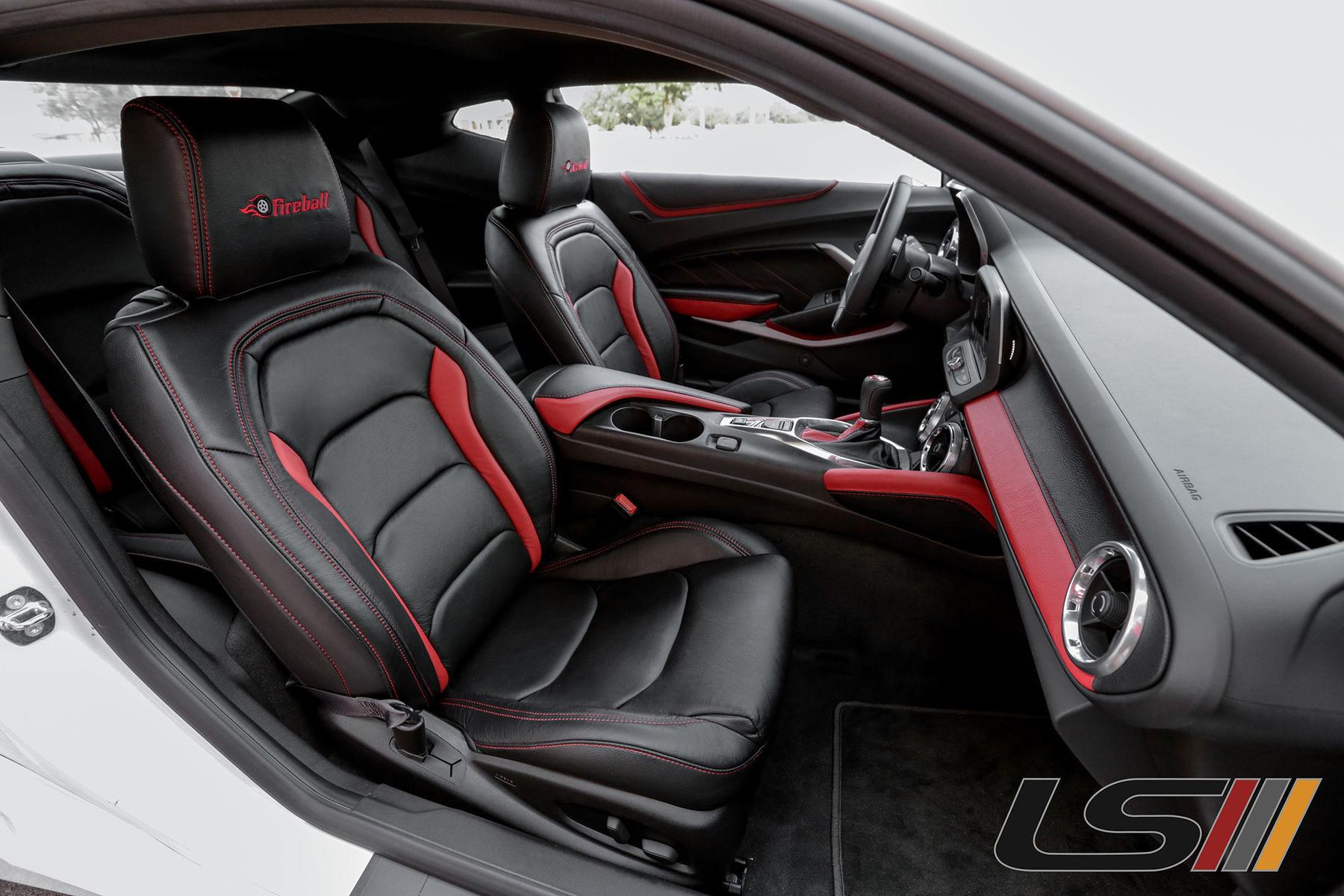 2016 Chevrolet Camaro | 2016 Chevrolet Camaro SS Interior By  LeatherSeats.com