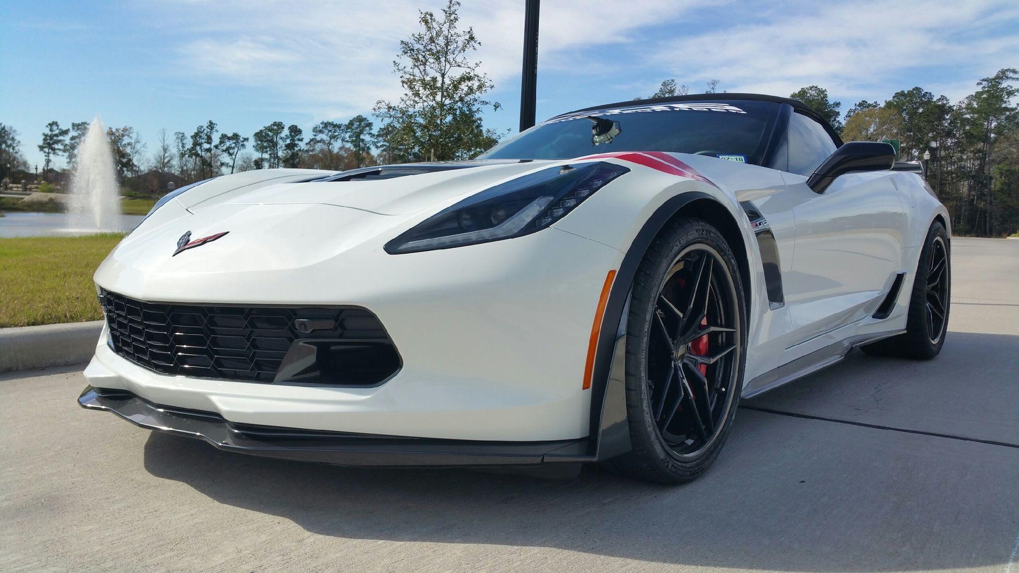 2016 Chevrolet Corvette Z06 | Aaron's C7 Corvette Z06/Z07 Convertible on Forgeline Carbon+Forged CF204 Wheels