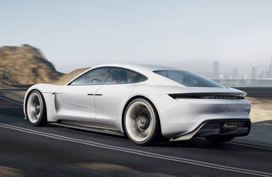 Porsche to Build Mission E Electric Sedan