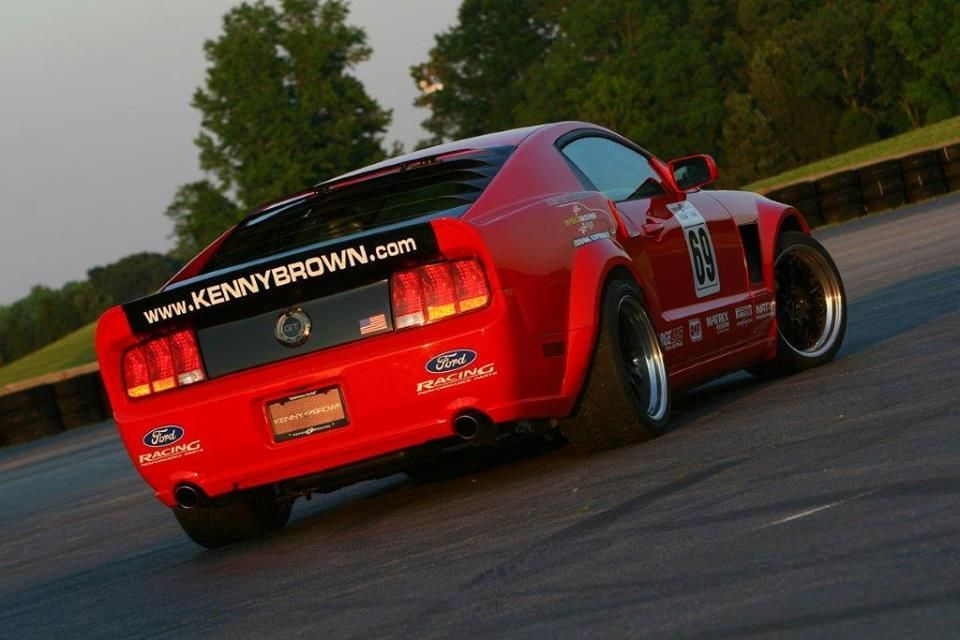 2005 Ford Mustang | Kenny Brown M69 Mustang on Forgeline ZX3R Wheels