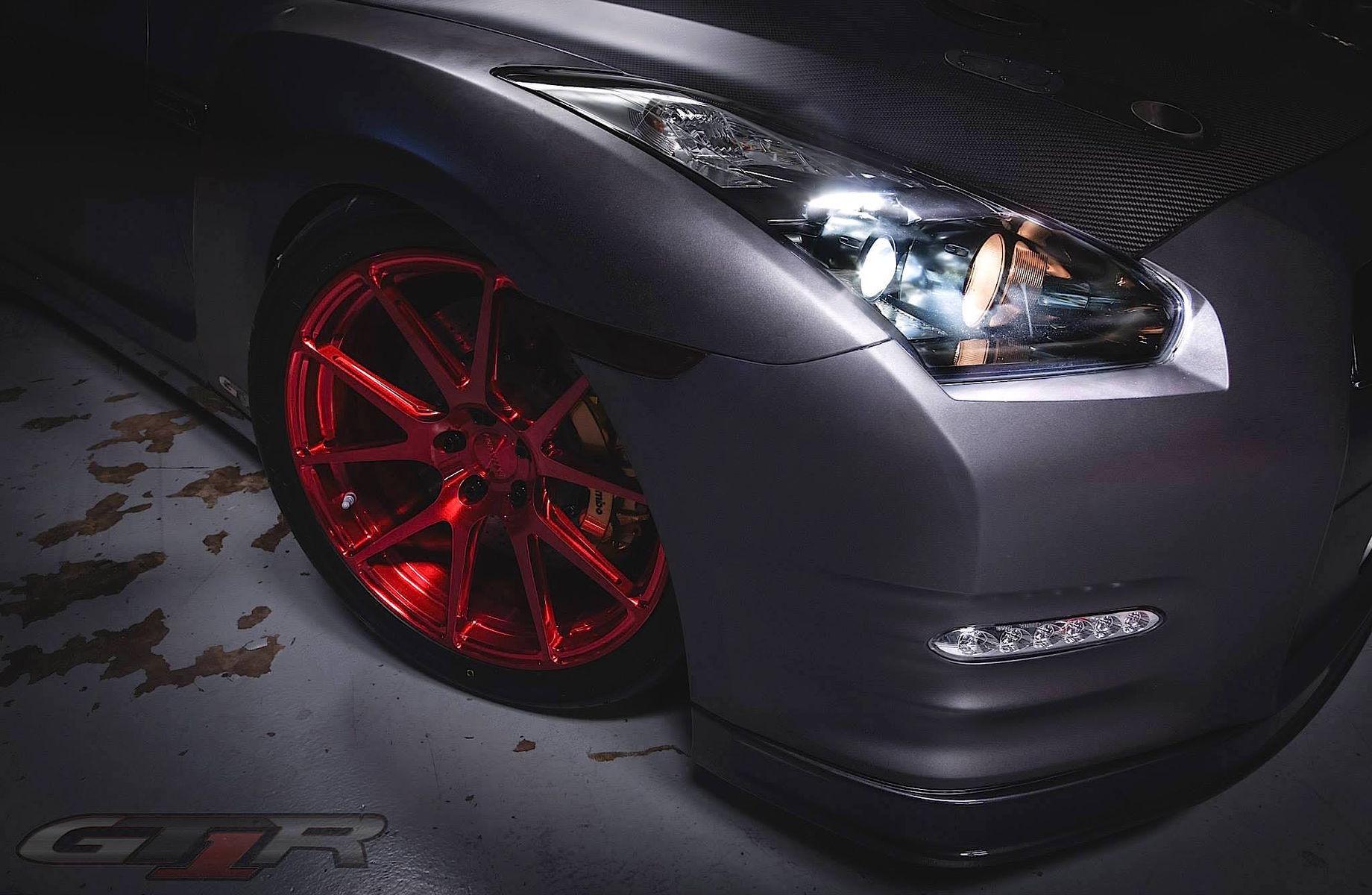 2009 Nissan GT-R | T1 Race Development GTR on Forgeline GA1R Wheels