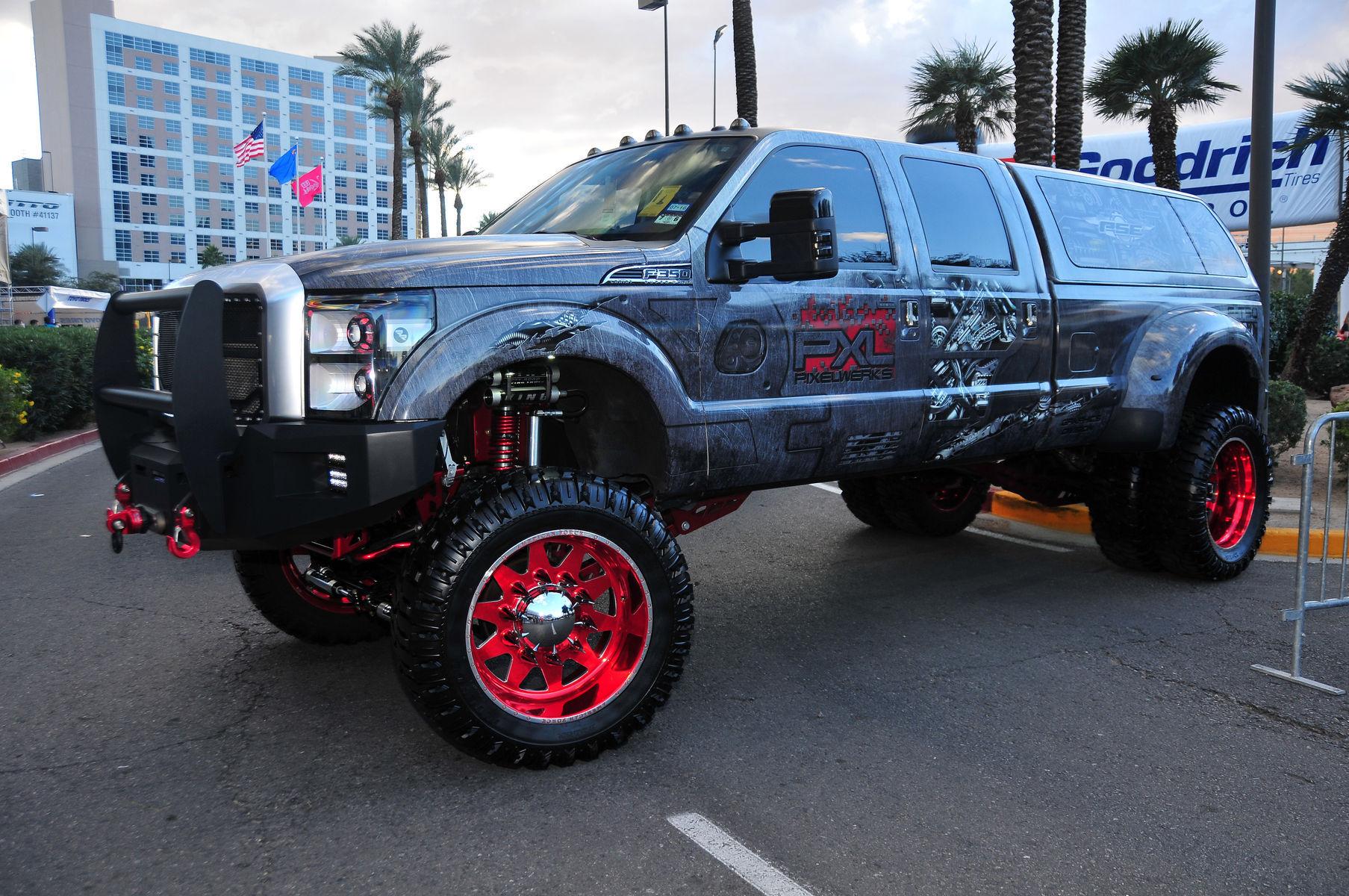 Ford F-350 Super Duty   American Force Wheels SEMA 2015 - Ford Truck