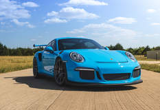 Tony Palo's T1 Race Development Porsche 991 GT3RS on Forgeline One Piece Forged Monoblock GS1R Wheels