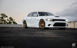 Cody's Whitehead Motorsports Dodge Charger Hellcat on Forgeline One Piece Forged Monoblock VX1 Wheels