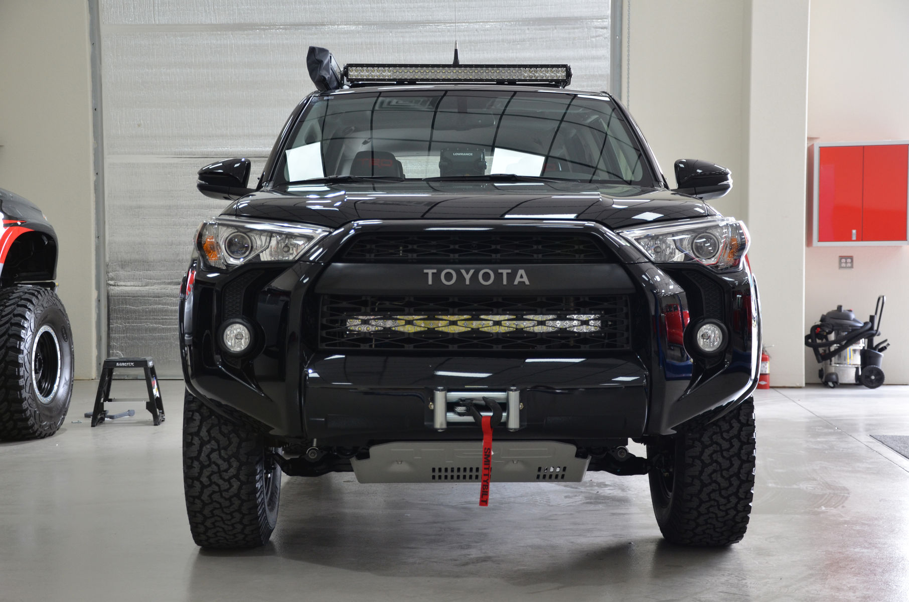 2014 Toyota 4Runner | N-FAB TRD PRO Build - Toyota 4-Runner Front LED Lights Shot