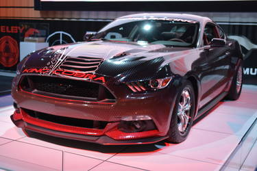2015 Ford Mustang | King Cobra Mustang Front Shot