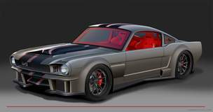 """2016 SEMA Show Preview: The Timeless Kustoms """"Vicious"""" '65 Ford Mustang on Forgeline GT3C Wheels"""