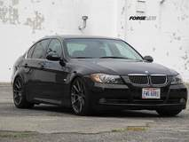 Todd L's BMW 330i on Forgeline One Piece Forged Monoblock RB1 Wheels