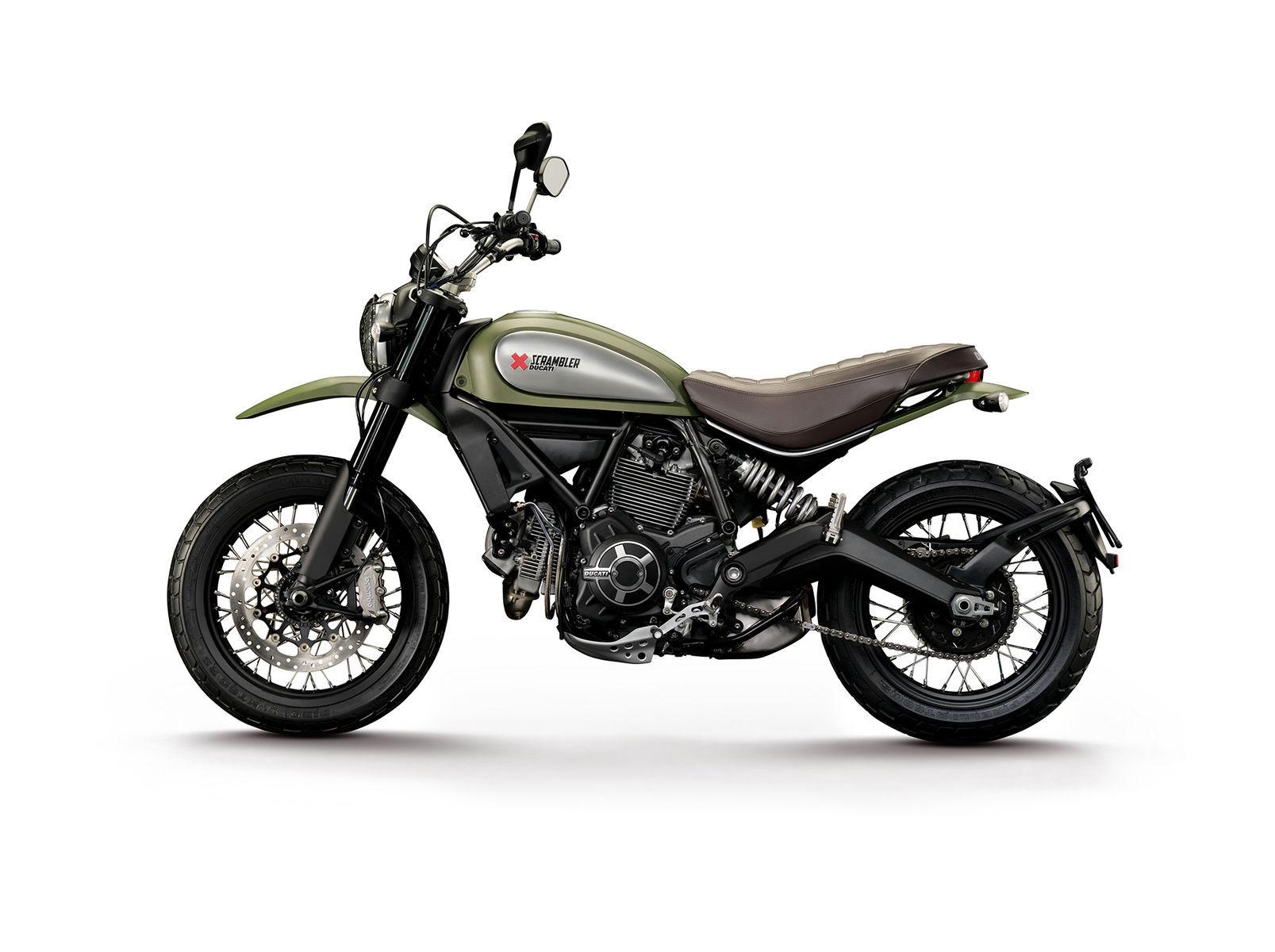 2015 Ducati Scrambler Icon | Ducati Scrambler - Green Left Side