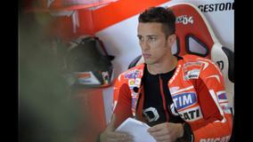 2013 MotoGP - Brno - Dovi in the garage