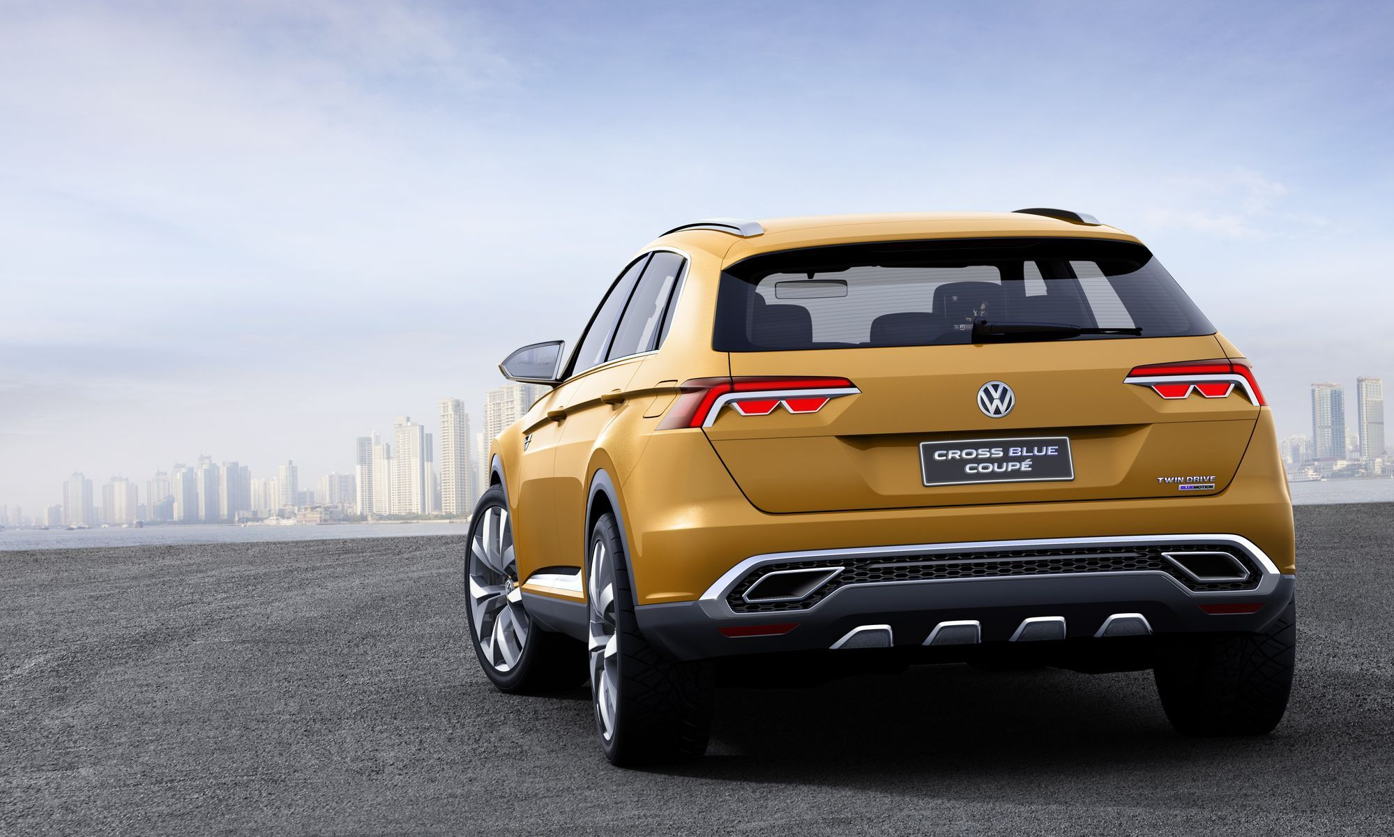 Volkswagen  | VW Cross Blue Coupe Concept