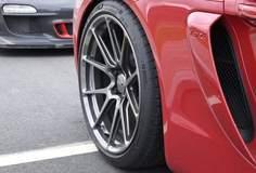 Alan Coleman's Porsche Cayman GT4 on Forgeline One Piece Forged Monoblock GS1R Wheels