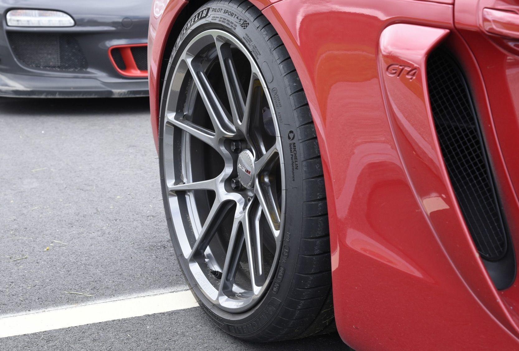 2016 Porsche Cayman | Alan Coleman's Porsche Cayman GT4 on Forgeline One Piece Forged Monoblock GS1R Wheels