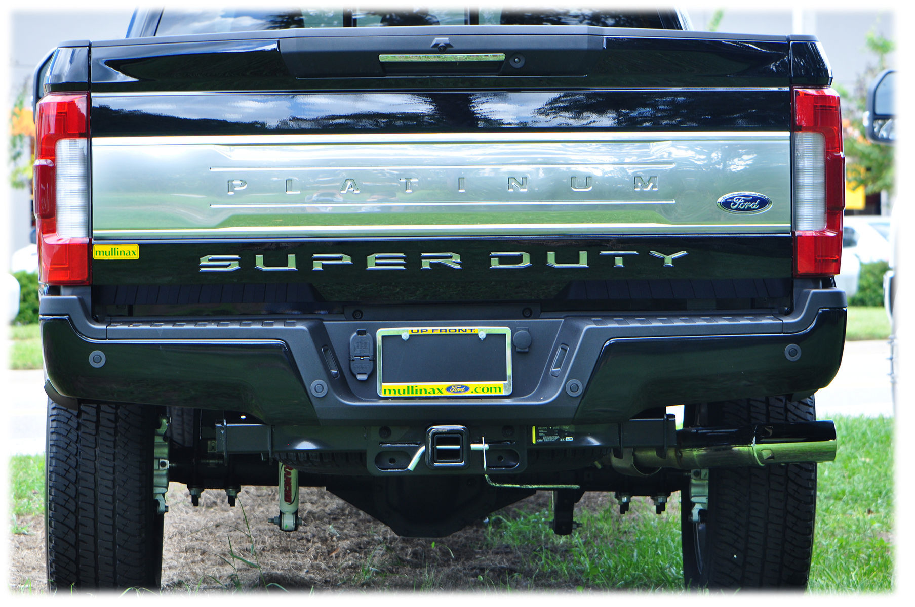 2017 Ford E-250 | 2017 Ford Super Duty - Tailgate Inserts