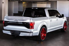 2015 CGS Performance Ford F-150 Lariat - Rear Angled Shot